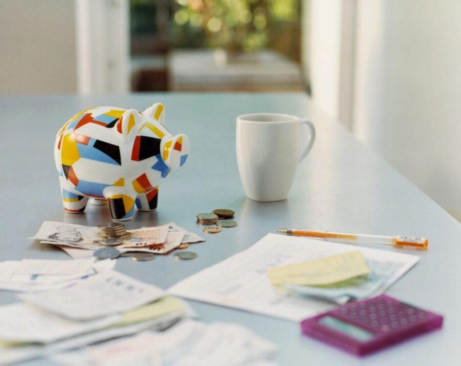saving money or paying off debt